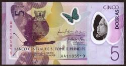 Santo Tome y Príncipe 5 Dobras PK Nuevo (2.018) (21-10-2.016) S/C