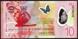 Santo Tome y Príncipe 10 Dobras PK Nuevo (2.018) (21-10-2.016) S/C