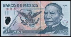 Méjico 20 Pesos PK 116b (17-5-2.001) S/C