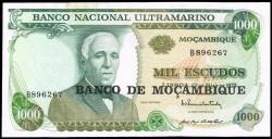 Mozambique 1.000 Escudos PK 119 (23-5-1.972) EBC+