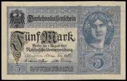Alemania 5 Marcos PK 56b (1-8-1.917) MBC