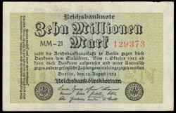 Alemania 100 Millones de Marcos PK 106a (22-8-1.923) MBC+
