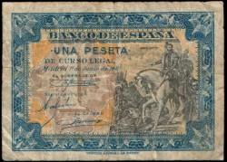 1 Peseta 1940 Hernán Cortés Sin Serie BC