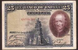 25 Pesetas 1928 Calderón de la Barca MBC-
