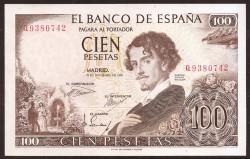 100 Pesetas 1965 Gustavo Adolfo Bécquer EBC