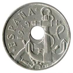 50 Cts 1949 * 53 Agujero Desplazado EBC