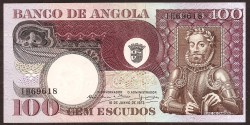 Angola 100 Escudos PK 106 (10-6-1.973) EBC