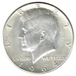 Estados Unidos 1964 1/2 Dólar Kennedy EBC