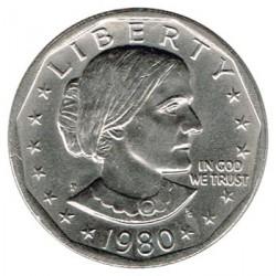 Estados Unidos 1 dólar Susan B. Anthony 1980 P EBC
