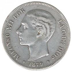 5 Pesetas 1879 * 79 MBC