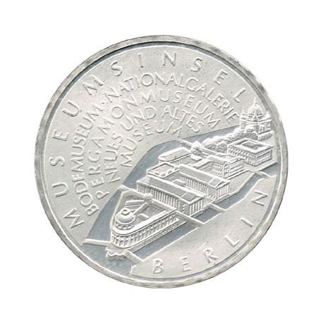 Alemania 2002 10 Euros Plata Ceca A Isla de los Museos S/C-