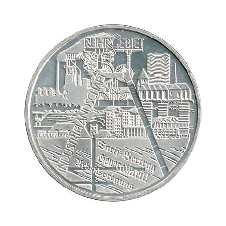 Alemania 2003 10 Euros Circulante Plata Ceca F. Ruhr S/C