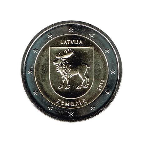 Letonia 2018 2 Euros Región de Zemgale S/C