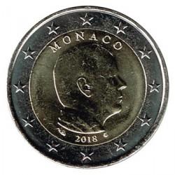 Mónaco 2018 2 Euros Alberto II S/C