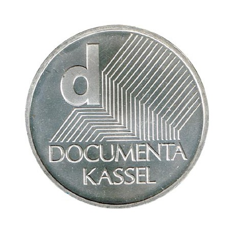 Alemania 2002 10 Euros Plata Ceca J documenta de Kassel S/C