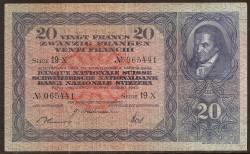 Suiza 20 Francos PK 39o (31-8-1.946) MBC-