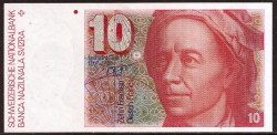 Suiza 10 Francos PK 53a (1.979) EBC+