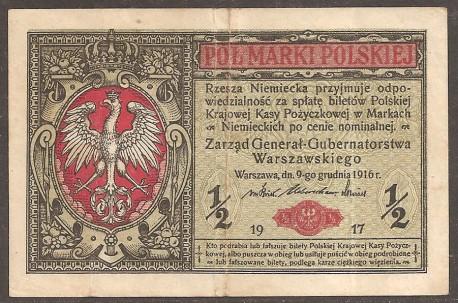 Polonia 1/2 Marki PK 7 (1.917) MBC-