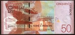 Santo Tome y Príncipe 50 Dobras PK Nuevo (2.018) (21-10-2.016) S/C