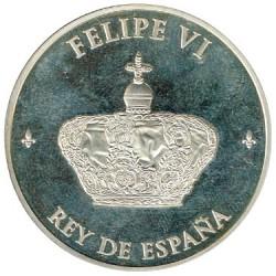 Medalla Oficial de la Proclamación de Felipe VI 2014 PROOF