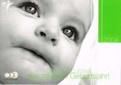 Alemania 2004 Cartera Baby Set Ceca G S/C