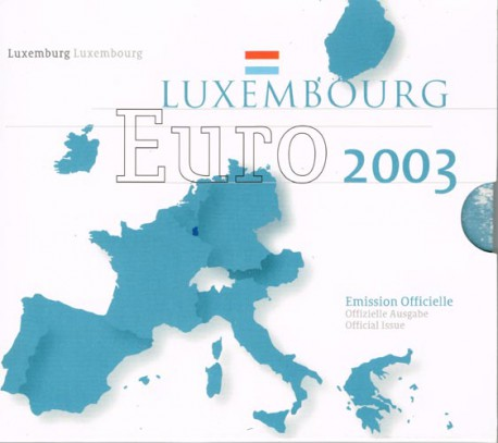 Luxemburgo 2003 Cartera Oficial S/C