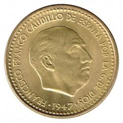 1 Peseta 1947 (56) KM 775 aUNC