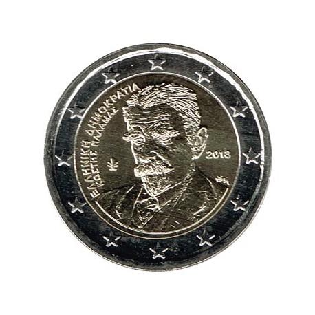 Grecia 2018 2 Euros Kostís Palamás S/C