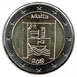 ABONO Malta 2018 2 Euros Nuevo modelo 2