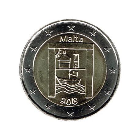 Malta 2018 2 Euros Patrimonio Cultural S/C