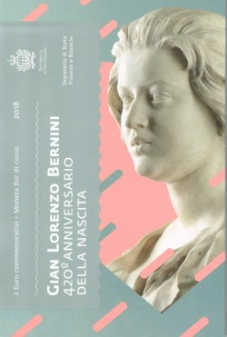San Marino 2018 2 Euro Bernini UNC