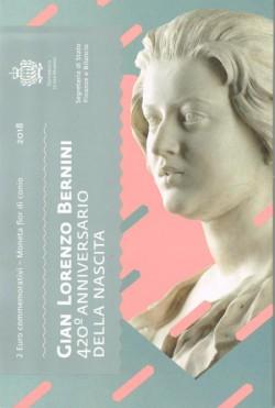 San Marino 2018 2 Euros Bernini S/C