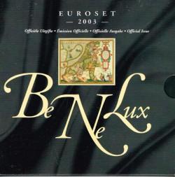 Benelux 2003 Cartera Oficial S/C