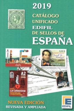 Edifil Catálogo Unificado de Sellos de España Edición 2019