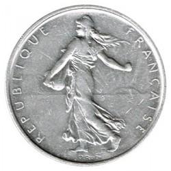 France 5 Francs Silver 1962 VF