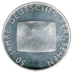 Alemania 2002 10 Euros Plata Ceca G. Televisión S/C-