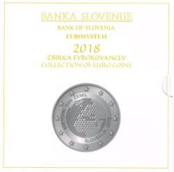 Eslovenia 2018 Cartera Oficial S/C