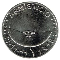 Portugal 2018 5 Euros. Armisticio S/C