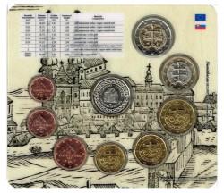 Eslovaquia 2012 Tira 8 valores S/C