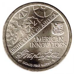 Estados Unidos 1 dólar Innovadores 2018 D. Primera Patente UNC