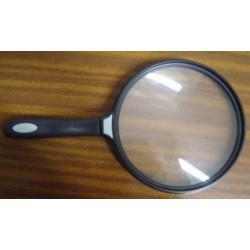 Lupa con mango 2´5 aumentos. 130 mm.