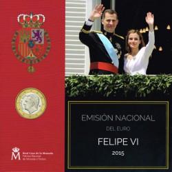 España 2015 Cartera Oficial S/C