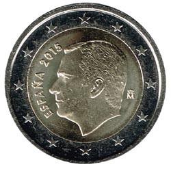 España 2015 2 Euros Felipe VI S/C