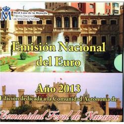 España 2013 Cartera Oficial Comunidades Navarra S/C