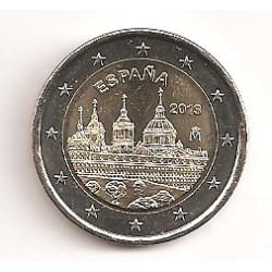 España 2013 2 Euros Escorial S/C