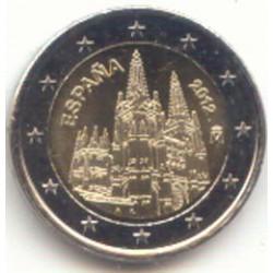 España 2012 2 Euros Burgos S/C