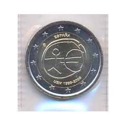 España 2009 2 Euros 10º Aniv. del euro S/C