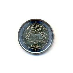 España 2007 2 Euros Tratado de Roma S/C