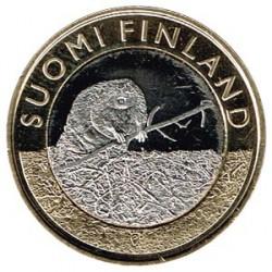 Finlandia 2015 5 Euros Castor S/C