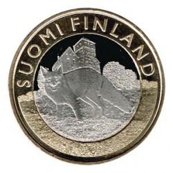 Finlandia 2014 5 Euros Zorro S/C